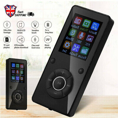 Support 32GB Black BLUETOOTH SPORTS LOSSLESS MP3 MP4 PLAYER MUSIC VIDEO FM NEW!