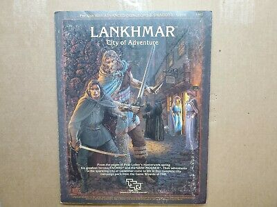 LANKHMAR City of Adventure - Advanced Dungeons & Dragons