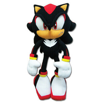 "REAL New Sonic the Hedgehog (GE-8967) - 12"" Shadow Stuffed Plush Doll Toy"