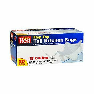 Capacity Mint-X MX2427W40DS Rodent Repellent Tall Kitchen Trash Bags 13 gal Box of 40