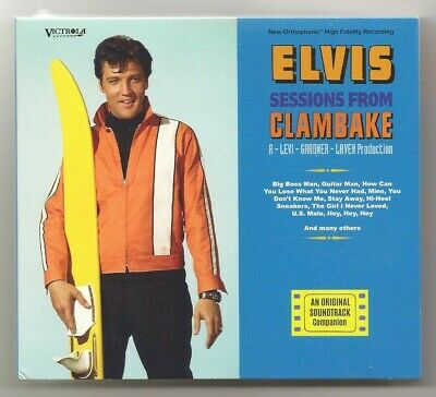 """Elvis Presley 3 Cd """"Elvis Sessions From Clambake"""" 2019 Victrola Studio Outtakes"""