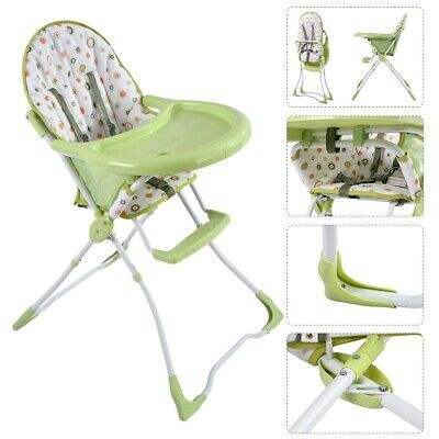 Portable Folding Safe Baby High Chair Infant Toddler Feeding Booster Seat 4Color