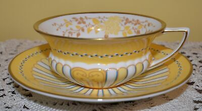Wedgwood Harlequin Collection Yellow Ribbons Cup & Saucer