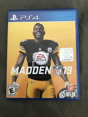Madden NFL 19 - PlayStation 4 FREE SHIPPING!!!