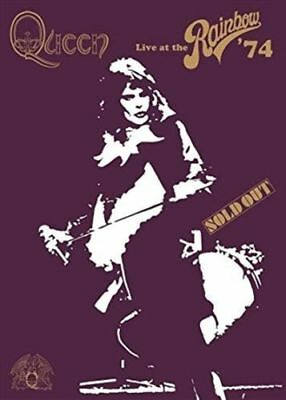 QUEEN Live At The Rainbow '74 DVD BRAND NEW NTSC Region ALL