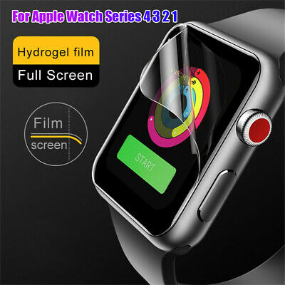 Film for iWatch Apple Watch Series 4 3 2 1 Screen Protectors Hydrogel