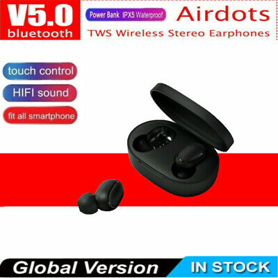 Premium  For Redmi TWS Airdots Headset Bluetooth 5.0 Headphone Stereo Earbuds