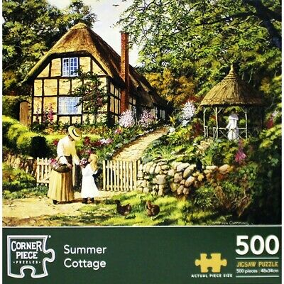 Summer Cottage 500 Piece Jigsaw Puzzle, Toys & Games, Brand New