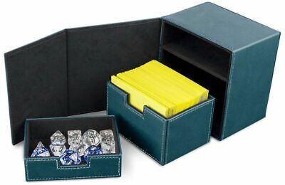 BCW Deck Vault Box LX Teal (Holds 100 Cards)