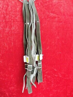 5 x Strap for Leather Trousers, Lavano Leather,Suspenders,50cm,New