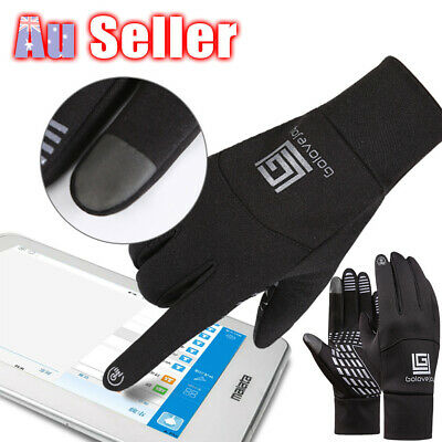 Men's Women's Mittens Sports Outdoor Touch Screen Gloves Winter Warm Smartphone