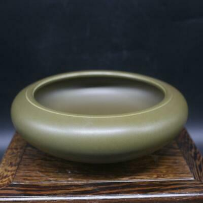 Chinese ancient antique hand make dust glaze water wash s240