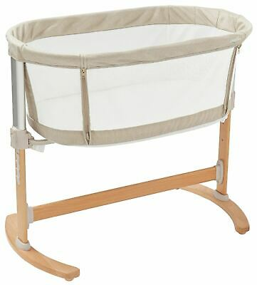 Purflo PURAIR BREATHABLE BEDSIDE CRIB Cradle Baby Sleep Bed - BN
