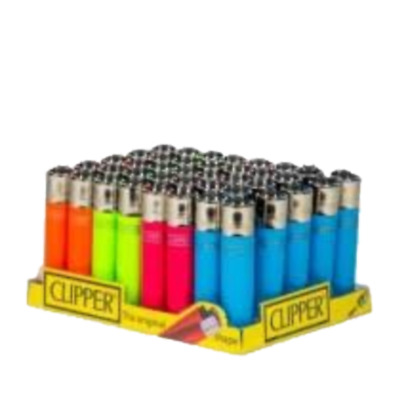 Clipper Multi Color Refillable Lighters By Straight Drive