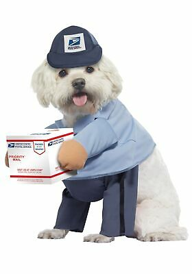 Dog Mail Carrier Costume USPS