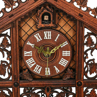 Large vintage Cuckoo decor Clock New Europea wall art home House modern clock