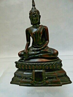 Bronze cast resin Bhudda statue