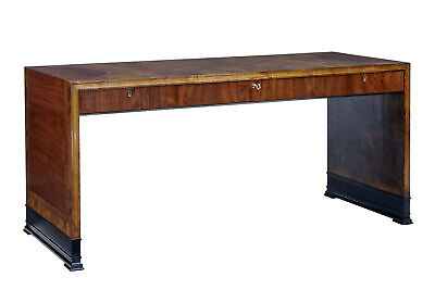 Art Deco Mahogany And Birch Inlaid Low Desk