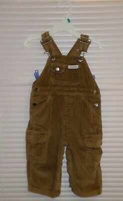 CANYON RIVER BLUES CORDUROY Overall Pants size 18m Light Brown 5 Pockets