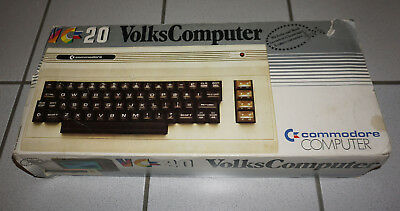 Commodore VC20 inkl. OVP Seriennummer A26439 W. Germany