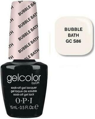 O.P.I OPI GelColor GC S86 Soak Off Gel - BUBBLE BATH 15 mL/0.5 oz FREESHIP