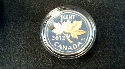 FAREWELL Adieu to the ONE CENT CANADIAN Coin-2012 commemoration the LAST STRIKE