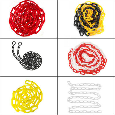 6/8/10mm Plastic Barrier Chain Link Safety Decorative Garden Fence, 5m, 10m