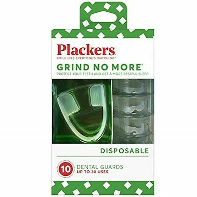 Plackers Grind No More Dental Night Guard for Teeth Grinding, 10 Count 303305518