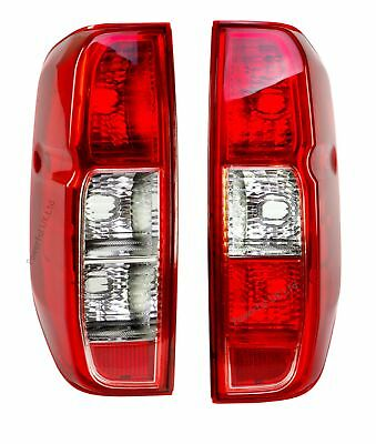 PAIR Rear tail lights for Nissan Navara D40 lamp NEW pickup 2005+ double cab UK