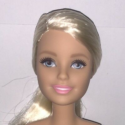 Barbie Made to Move NUDE Doll Articulated Pivotal Blonde Baseball Player NEW