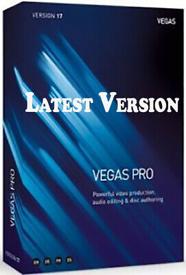 Magix Sony Vegas Pro 17 64 Bit | FULLY ACTIVATED | For Windows Video Editing