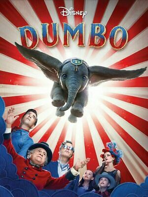 Dumbo Human version 2019 DVD Brand New Sealed + FREE TRACKING