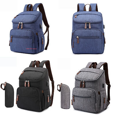 Large Capacity Mummy Bag Baby Diaper Nappy Multifunctional Maternity Backpack