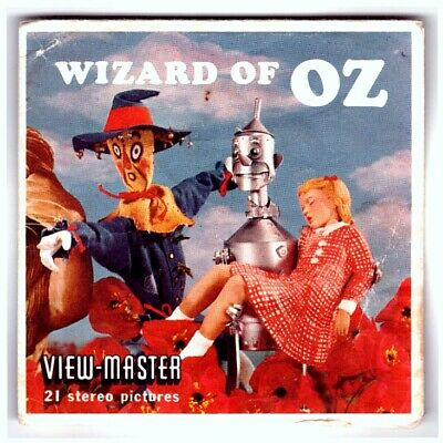 3 VIEW-MASTER 3D Reels📽️THE WIZARD OF OZ, B 361(Der Zauberer von Oz v.1962) RAR