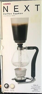 Hario Next 5-Cup Glass Syphon Coffee Maker with Silicone Handle NXA-5 600ml