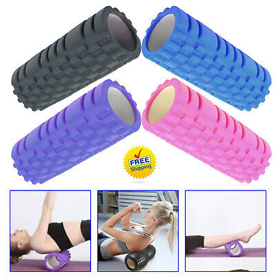 Yoga Roller Gym Muscle Pain Massager Rehab Trigger Physio Point Yoga Foam Fitnes