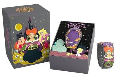 Disney Mickey's Not So Scary Halloween Party Hocus Pocus Magic Band Limited 2019