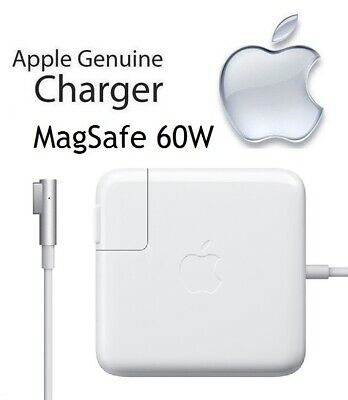 NEW Apple 60W MagSafe Power Adapter Charger for MacBook Pro (MC461LL/A)