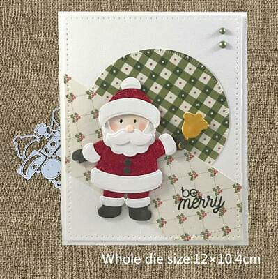 Metal Cutting Dies Cut Die Christmas santa claus Scrapbooking Album DIY Craft