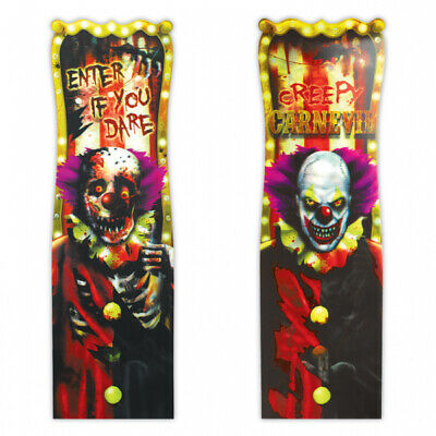 Enter If You Dare 3D Lenticular Halloween Sign Creepy Carnival Decoration 190197
