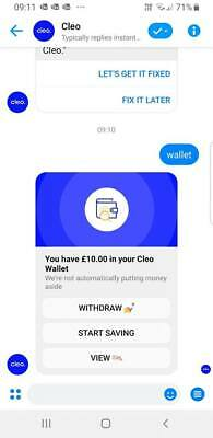Free £5 with cleo for UK, US, Canada