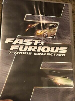 Fast and Furious 7- Movie Collection (DVD, 2016, 8-Disc)GREAT CONDITION