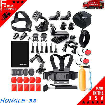 Mounting Hardware Attachments Bundle GoPro HERO 3+4 Camera for Sport Accessories