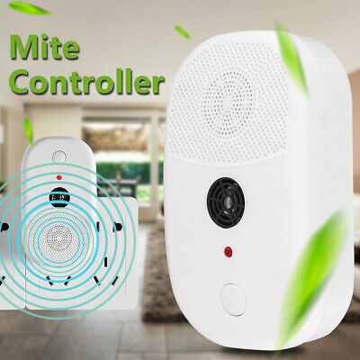 70㎡ Ultrasonic Wave Mite Controller Cleaner Killer Physical Anti Home Hotel 220V