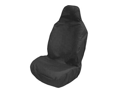 Large Front Car Van Seat Cover Heavy Duty Protector Universal Fit Black