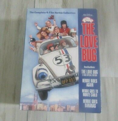 Walt Disney's Herbie the Love Bug - The Complete 4-Film Herbie Collection DVD