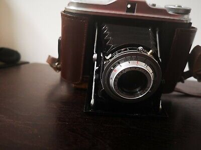 Vintage AGFA Isolette Folding Camera Made In Germany Antique Collectibles