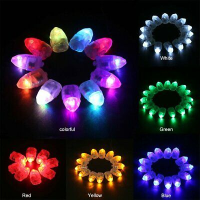 LED BALLOON LIGHT Multi Colour Glowing Flashing For Disco Party And Christmas AU