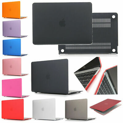 Rigid Plastic Matte Case Cover Shell for Apple MacBook Air Pro 11 12 13 15 Inch