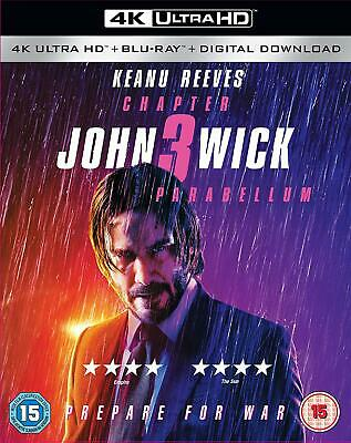 John Wick: Chapter 3: Parabellum [4K Ultra HD + Blu-ray] For release 16th Sept!